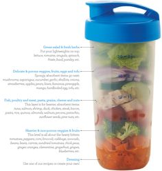 Quick Shake Salad Layers -lots of different recipes -might be convenient for camping trips