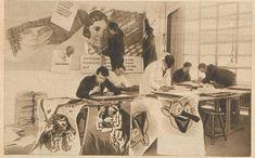Workshop di comunicazione, Bauhaus Dessau, 1926. Fotografo sconosciuto. Fonte: Bibliothek der Friedrich-Ebert Stiftung