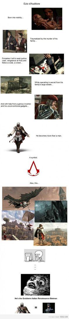 The Goddamn Assassin...