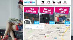 Sauber: Stuttgarts knackigster Waschsalon öffnet pünktlich zum 15.11. die Pforten. Bei wash&go - Waschsalon Stuttgart gibt´s Gratis-WLAN, Kaffee & Wahnsinns-Preise bis SIlvester - das hat sich ordentlich gewaschen. Die Website ist schon online - sorgfältig handgewaschen von Rami Media & Marketing.  Zur Website: www.Waschsalon-Stuttgart.com Mehr von Rami: http://fb.rami-media.de