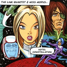 Link Quartet & Miss Modus: Hotel Constellation