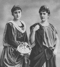 Milica and Anastasia of Montenegro