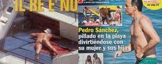 Los 'paparazzi' no sólo fotografían a Podemos: del desnudo del rey a las vacaciones de Sánchez