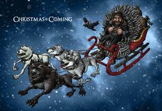 Christmas card 2011 - Game of Thrones by ~TomBerryArtist on deviantART