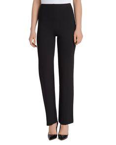Lysse Smith Straight-Leg Ponte Pants
