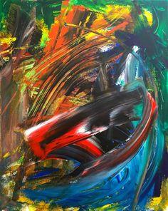 Jungle #abstractexpressionism #modernart #abstractart #art #painting