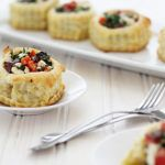 Greek Puff Pastry Appetizers with Kalamata Olives