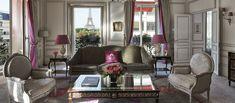 Sleep peacefully in one of Paris's luxurious hotels at Hôtel Plaza Athénée opposite the Eiffel Tower. Discover our extraordinary Eiffel Suite. Dorchester Collection, Paris Hotels, Luxury Rooms, Beautiful Interiors, Future Travel, Furniture, The Neighbourhood, Beautiful Places, Star