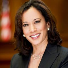 Kamala Harris - California's Attorney General - An amazing woman. I think someday she'll be a contender for president!