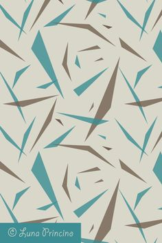 Splinters pattern by Luna Princino. Seamless vector texture is available on Shutterstock. #graphic #design #seamless #pattern #vector #texture #abstract #fashion #beautiful #background #backdrop #wallpaper #geometric #geometry #graphics #trendy #creative #for #decor #decorative #decoration #colors #polygon #polygonal #fragments #splinter #beige #brown #and #teal #color #inspiration #turquoise #aqua  #grey #chaotic #pieces #modern #stylish #fabric #triangles #sharp #elements
