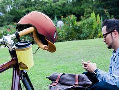 kumoa Leather visor / Burgundy  クモア レザーバイザー/バーガンディ