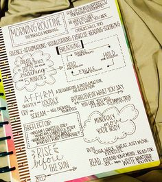 "37 Likes, 6 Comments - Tracy Eby Owens (@tracyebyowens) on Instagram: ""The Miracle Morning - Morning Routine Cheat Sheet. @the_happy_planner #miraclemorning…"""