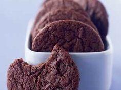 Cocoa Fudge Cookies Recipe | MyRecipes