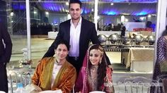 Model and Actress Ainy Jaffri Wedding Pictures