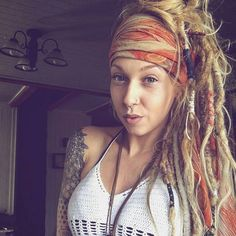 @_crystalsoul_ Love it! #dreads #positive #hippie