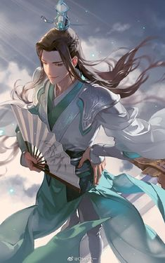 CHINESE DRAMAS AND NOVELS | VK Anime Elf, Anime Manga, Anime Guys, Chinese Drawings, Chinese Art, Magic Anime, Character Art, Character Design, Animal Sketches