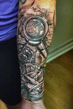 Bildergebnis für forearm sleeve tattoo