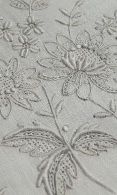 Vintage Madeira Ultra fine linen placemat runner napkin set with beautiful embroidery.