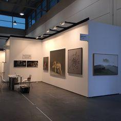ArtVerona 2015- Art fair in verona (north Italy). Salamon's stand. Artists exhibited: Marzio Tamer, Gianluca Corna, Antonio Vazquez, Doriano Scazzosi.