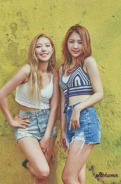 Jiwoo and Somin