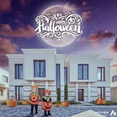 Happy Halloween! Enjoy our adorable little pumpkins in Majestic Sea Village🎃🍬 #happyhalloween #halloweencostume #halloween #majesticseavillage #halloweenmood #enjoy #october31 #littlekids #pumpkin #adorablepumpkin