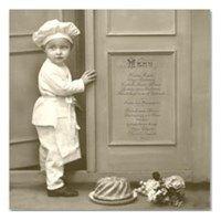 Sagen Vintage: Serviett - Chef