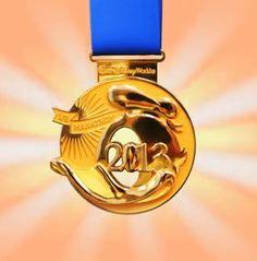 2013 Walt Disney World Half Marathon Donald Duck medal- will be mine!