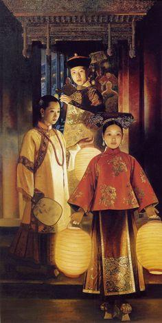 by Zhu Yi Yong (was born in Chongching, Sichuan Province, in 1957) -?
