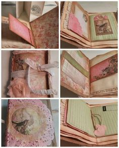 Vintage Themed Envelope Junk Journal by Fragments of Life, $20.00 USD