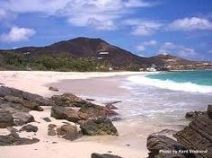 St. Croix, The sand is fine, it's like sugar.