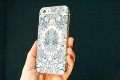 Boho iPhone 6 Case Boho Style Indigo iPhone 5S by JoyMerrymanStore