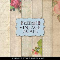 Freebies Vintage Style Kit