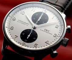 IWC Portuguese Time - Watch - Mens Fashion - Style  pinterest.com/pinsbychris
