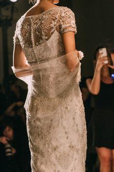 Reem Acra Bridal Fall 2015 - Wedding Style Inspiration  LANE 、