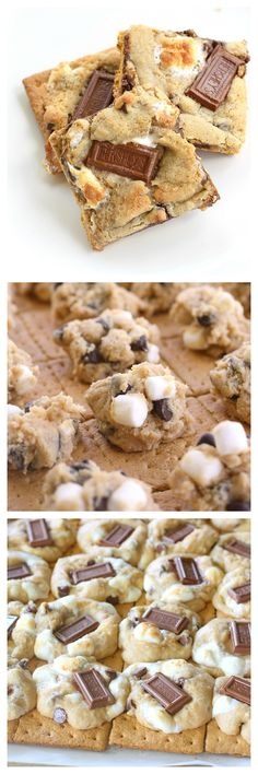 S'mores Cookies - tried and true cookies that have been pinned over 1 million times. www.the-girl-who-ate-everything.com