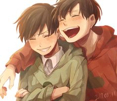 Choro and osomatsu I Love Anime, Anime Guys, Bear Makeup, Ichimatsu, Anime Art, Fandoms, Animation, Manga, Drawings