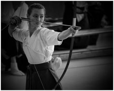 The Kyudo practitioner does not look at the target for the result of his/her practice, but inward, for the target is not a target - it is a mirror.