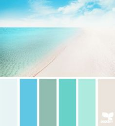 peaceful+beach+color+scheme | Peaceful Beach Color Scheme!