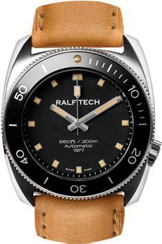 Ralf Tech WRV Automatic 1977 Series II Diver watch