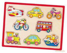 "Пазл Viga Toys ""Транспорт""  Цена: 114 UAH  Артикул: 50016   Подробнее о товаре на нашем сайте: https://prokids.pro/catalog/igrushki/nastolnye_igry/pazl_viga_toys_transport/"