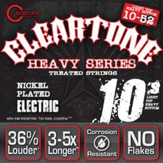 Cleartone Monster Electric Guitar Strings  Dave Mustaine Signature Series 1052 ** For more information, visit image link.(It is Amazon affiliate link) #5likes