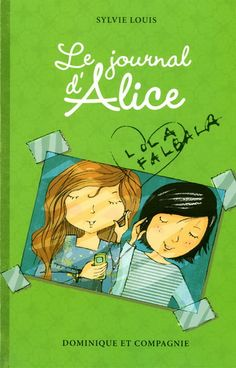 Le journal d'Alice Lectures, Alice, Books, Fictional Characters, Drawings, Caro Diario, Book Markers, Singer, Livres