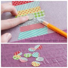 Lines Across: Washi Tape Stickers (Craft Stash Bash #12 - Little Lovelies)