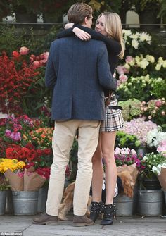 The final goodbye?It appeared to be the pair's final day together before festivities begi...