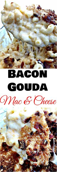 bacon gouda mac and cheese