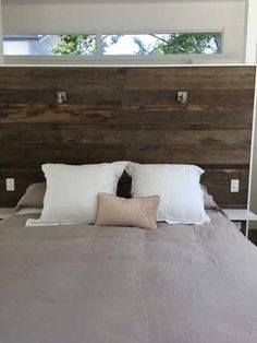Timber feature walls are a great way to add warmth, style and individuality to your bedroom. Look at some of these amazing photos! Timber Feature Wall, Feature Walls, Master Bedroom Wood Wall, Cool Photos, Amazing Photos, Hope Chest, Recycling, Design Bedroom, Cabinet
