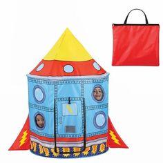Super+Rocket+Ship+Childrens+Indoor+/+Outdoor+Play+Tent+-+Hours+of+Kids+fun!