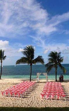 The Perfect Beach Wedding Location West End Grand Bahama Island Bahamas