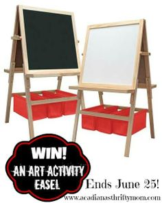 Enter To WIN An Art Easel For Children   )u003e