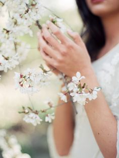 Whimsical Outdoor Spring Wedding Ideas photo by serena jae